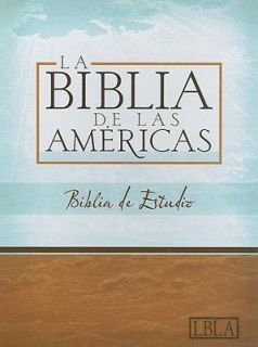 LBLA Biblia de Estudio by Holman Bible Editorial Staff 2008, Hardcover