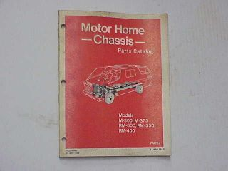 1969 1970 1975 Dodge Motorhome NOS MoPar PARTS BOOK M30