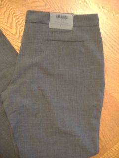 Bitten Sarah Jessica Parker / Sizes 2 20 /Gray Stretch Wool Mercer