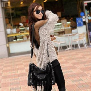 Sexy Lady Backless Long Sleeve Shirt Blouse Soft Fur Transparant