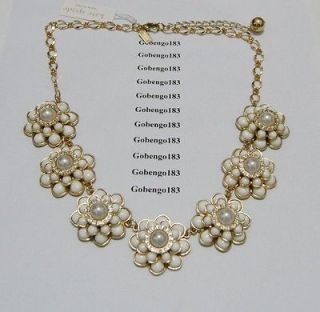 Kate Spade BN591 New Fashion Beautiful Flowers Necklace K360