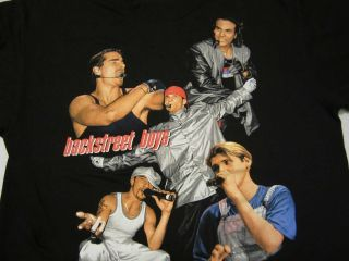 Backstreet Boys Shirt Tour 1998 Vintage backstreet Back