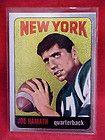 JOE NAMATH TOPPS CARD # 122 CHROME REPRINT NEW YORK JET