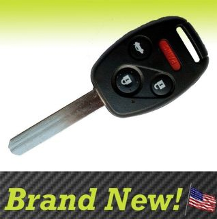 PAIR OF NEW HONDA KEYLESS ENTRY KEY REMOTE CASE SHELL REPLACEMENT