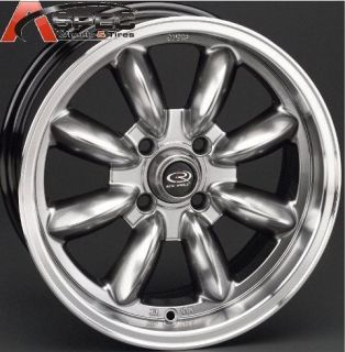 ROTA RB 16X8 4X114.3 ET10 73.1 HYPER BLACK RIM WHEELS