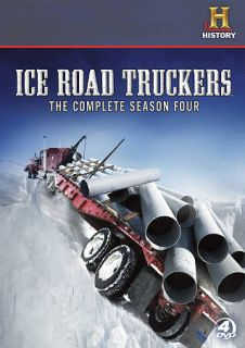 Ice Road Truckers The Complete Season Four DVD, 2011, 4 Disc Set