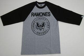 The RAMONES T shirt Punk Rock Baseball Jersey Tee Shirt Adult S XL New