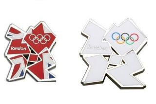 London 2012 Olympic Games Union Jack & White Scarf Tie Coat and Jacket