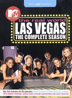 MTVs The Real World   Las Vegas The Complete Season DVD, 2003, 4 Disc