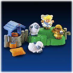 NEW Fisher Price Little People Little Shepherd Lil Sheperd Nativity