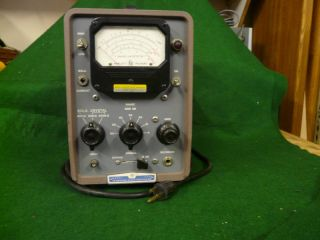HP 415B Standing Wave Indicator for high frequency (Microwave??)