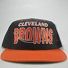 VTG Cleveland Browns Snapback Hat Cap NFL Colt Mccoy Josh Cribbs