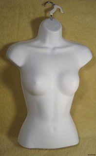 Female White Mannequin Torso Maniquin Manequin Manniqui