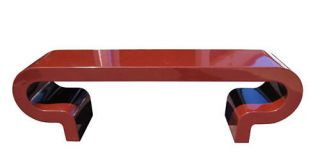 Charles Hollis Jones Waterfall Console Lacquered Finish
