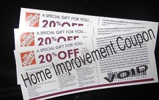 COUPON 20% OFF UP TO $2000 USE @ LOWES   12/31/2012