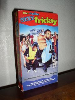 Next Friday starring Ice Cube (VHS, 2000, Bonus Music Videos)