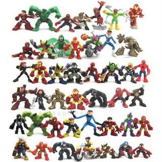 Super Hero Squad Iron Man Spider man Legends Figures Xmas Gift N90