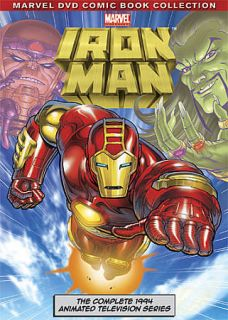 Iron Man The Complete Animated Series DVD, 2010, 3 Disc Set