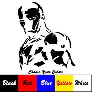 Iron Man Vinyl Sticker for Car Truck Laptop Decal Window Guarantee 5