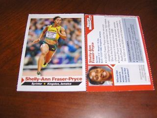Shelly Ann Fraser Pryce Sports Illustrated for kids, Olympics Gold