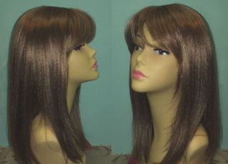 high quality sepia long strawberry blond wig