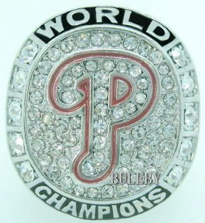 2008 Philadelphia Phillies Baseball World Series Champions Ring Size