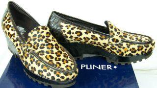Donald Pliner Riza2 Espresso Kogi Camel Loafers Shoes 9 M US VMS1 D743