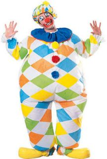 Adult Std. Inflatable Clown Costume   Clown Costumes