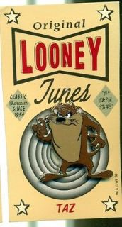 Taz Looney Tunes hat pin enameled Warner Brothers new on original 1993