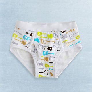 Vaenait Baby Toddler Kid Boy 1pc Underwear Brief  Rock Boy (2 3Y