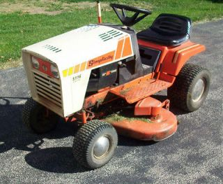 Simplicity 5116 Riding Lawn Garden Tractor with 42 Mower Deck & 16 hp