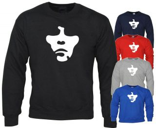 THE STONE ROSES SWEATER IAN BROWN JUMPER SWEATSHIRT FACE MUSIC INDIE T