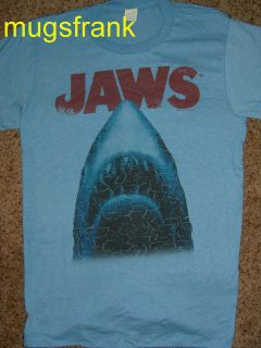 New Jaws Movie Big Shark Stressed Out T Shirt
