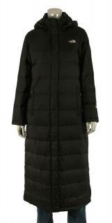 North Face Enchantment Black Full Length 550 Down Coat Jacket New $450