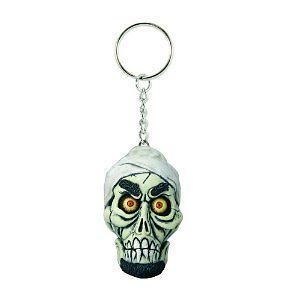 Jeff Dunham Achmed Doll Head TALKING Keychain NIP damaged no sound