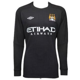 Manchester City FC Home Goalkeeper Shirt/Jersey 2010/11 Navy Blue Boys