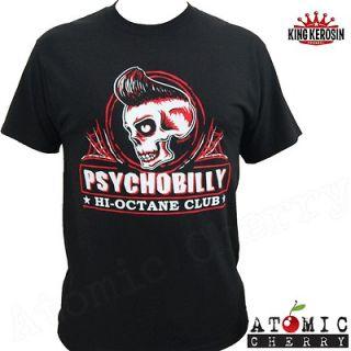 Psychobilly T Shirt Rockabilly Punk Hot Rod Kustom Kulture Tattoo