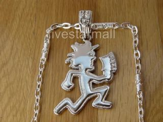 ICP HATCHET MAN ICED OUT PENDANT 30 CHAIN HIPHOP BLING