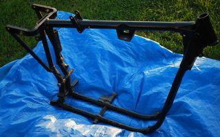 1975 Harley Davidson Sportster Frame Project Chopper Bobber Ironhead