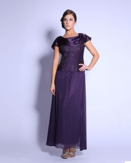 COLOR FORMAL GOWN OCCASION MOTHER OF THE BRIDE/GROOM DRESS EVINING M