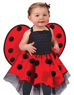 Infant Baby Girls Ladybug Lady Bug Ladybird Halloween Costume Infant