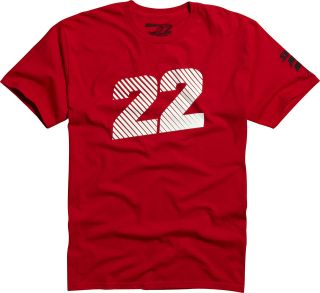 Shift MX Racing Chad Reed Tee Red Two Two Motorsports No Sponsors 22 T