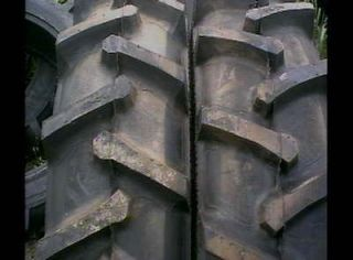 TWO 18.4X26 FORD JOHN DEERE R 1 Bar Lug 12 ply Tube Type Rear Farm