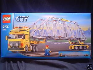 lego city town 7900 heavy loader semi truck misb new