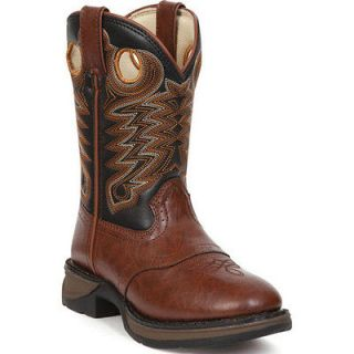 BT200 Rebel by Durango Boys Dusk & Black Saddle Western Boots Size 2