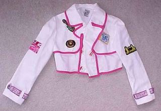 SAVE THE QUEEN Girls coat jacket 140 10 (8) Circus HTF EUC Union Jack