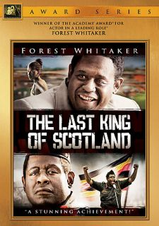 The Last King of Scotland DVD, 2007, Widescreen Gold O Ring