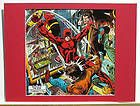 DAREDEVIL Pin up Print Frame Ready Marvel BOTH COSTUMES