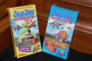 JAY JAY Jet Plane Lot VHS Movie Tapes Natures Treasure, New Friends