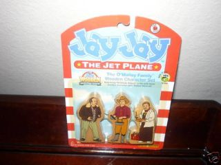 Jay Jay the Jet Plane Character Set The OMalley Family
